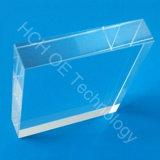 (65-30) X57mm, blocchetto di guida chiara trapezoidale spesso del corpo della guida chiara del quarzo di 12mm