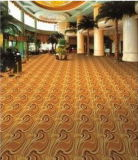 現代デザインカジノのホテルの一面に編まれたカーペットのためのカスタマイズされたAxminsterのカーペット