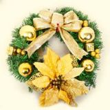 Los varios tipos de polvo del brillo del resorte se utilizan para las decoraciones de la Navidad