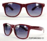 流行および熱い販売の女性二焦点レンズのプラスチックサングラス