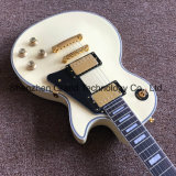 Creme personalizado Lp guitarra eléctrica com 2 Pickups (BPL-535)