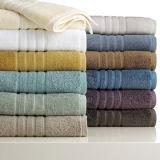 100%年の綿によって印刷される多彩な縞手タオル(DPF2534)