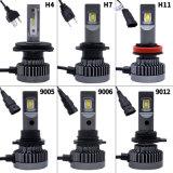 단 하나 광속을%s 가진 자동 헤드라이트 LED 전구 H7 자동차 부속 크리 사람 칩 빛과 9000lm Philips LED 자동차 헤드라이트를 가진 모든 차