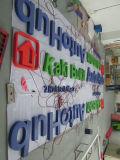 상점 상업적인 LED 아크릴 채널 편지 표시