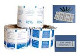 El papel de aluminio laminado de papel para la glicerina Swabsticks Limón
