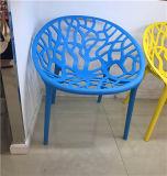 Пластичная ткань обедая стул трактира PP мастерский