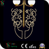 het 2D LEIDENE van de Straatlantaarn Licht van het Motief voor de Bouw van Decoratie