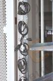 """Una cremagliera elettrica scaricata anteriore dei 19 """" portelli del doppio piano"""