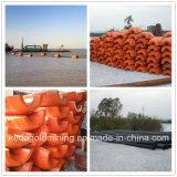 중국 10 인치 유압 강 모래 펌프 준설선