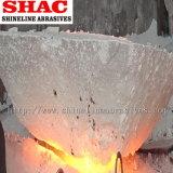 Allumina fusa bianca dei grumi grezzi per l'abrasivo