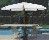Paraguas de madera, Sun Sombrilla, Paraguas Jardín