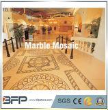 内部のフロアーリングデザインのための磨かれた自然な大理石のモザイク