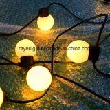 Luzes de seqüência do LED G45 Luz de String de esfera para uso jardim exterior
