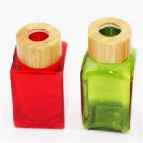 مسمار عمليّة صقل زجاجة مع غطاء خيزرانيّ