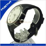 Het klassieke en Hete Verkopende Zwitserse Horloge van het Kwarts van het Water van het Leer van de Stijl Echte Bestand