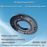 CNCの機械装置部品を製粉する工場価格の黒の終わりSUS316の精密
