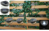2 Jardim Solar candeeiro de parede LED, Luz de cerca de paisagem