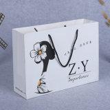 De lujo blanco Bolsos, bolsas, bolsos, regalos de boda y Bolsas de regalos Bolsa de tela bolso personalizado