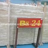 Opgepoetst natuurlijk/de Beige Marmeren Tegels van de Travertijn Harmmer/Antique voor Countertop/Paving/Wall/Floor