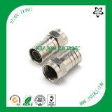 Rg59 Cable coaxial F Conector de compresión