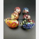 3.35 Zoll-Farben-Glaswasser-Rohr für rauchendes Filterröhre