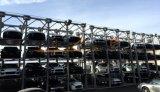 3 4 этажах приемника машины гидравлические многоуровневая система автостоянка