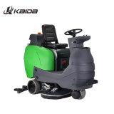 370W Wash Suction Motor Rotary Hand Push Floor Scrubber