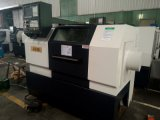 CNCの旋盤Machine/Mesin Bubut CNC (JD32/CK0632/CK6132)