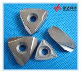 Подгонянные вставки CNC карбида вольфрама для стальной подвергать механической обработке