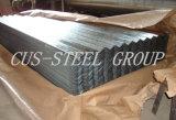 Feuille de toit en acier galvanisé d'onde de l'eau/panneau de toiture en métal ondulé