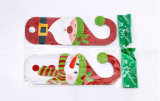 Kerstmis schittert de Deur van het Poeder hangt Decoratie