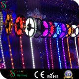 Decoração Remoted do Natal da luz de tira do diodo emissor de luz da cor do RGB do controle
