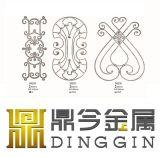 Personalizar el diseño de puerta de hierro forjado.