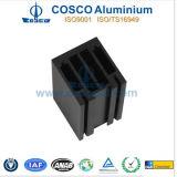Puder-Beschichtung-Aluminiumstrangpresßling für Baumaterial mit der CNC maschinellen Bearbeitung