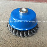 4inch Steel Wire Twist Knot Bowl Cup Brushes (YY-586)