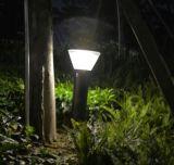 屋外の太陽景色のランプによって動力を与えられる道LEDの太陽芝生の庭ライト