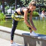 Напечатанная йога одевает гетры кальсон (3075)
