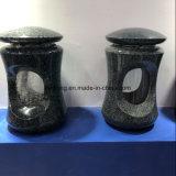 De zwarte/Rode/Grijze/Vaas van de Bloem van het Graniet voor Grafzerk/Grafstenen/Grafsteen