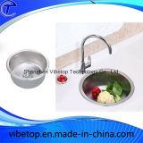 Évier de lavabo de cuisine fait main fait main à la main