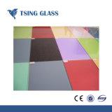Parte traseira do vidro pintado (Vidro lacadas) para aplicações de decoração de interiores