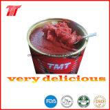 830g pasta de tomate en conserva de TMT marca de alta calidad