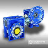 Rv Worm Aluminium Gear Reducer con Input Flange