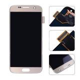 Оптовая торговля оригинальный ЖК-дисплей для Samsung Galaxy S7 G930 Gold ЖК сенсорный экран в сборе