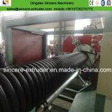 Машина изготавливания двойной стены HDPE Corrugated спиральн пронзительный