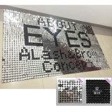 Größeglänzenden dekorativen Sequin-Hintergrund für System/Wand/Ereignis/Anschlagtafel anpassen