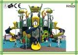 運動場LLDPEの子供のレクリエーションおよび遊園地の運動場装置、Residentional領域、コミュニティのためのプラスチックKaiqiの外国人のStypeの屋外の運動場