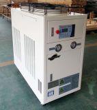 Refrigerador de agua en el refrigerador industrial para electrochapar