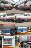 GLP Remolque Cisterna 40000 ~ 60000 litros, gas GLP remolque del camión
