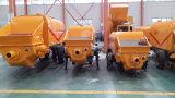 Pompa per calcestruzzo diesel potente con la riga d'acciaio di pompa distributrice di liquido di 100m sulla vendita