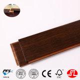 1850*125*14mm Handscraped carbonizado angustiados haga clic en Sistema hilo tejido de pisos de bambú)